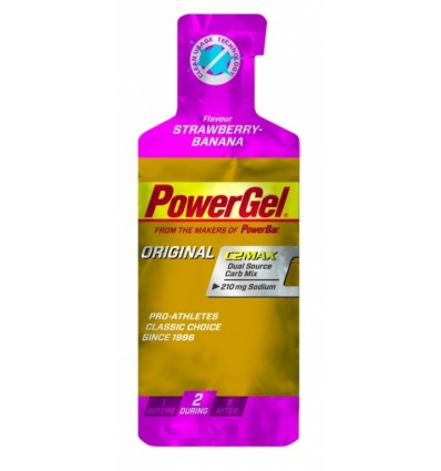 PowerBar powergel sodium Strawberry Banana